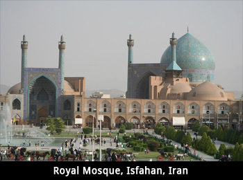 Royal Mosque, Isfahan, Iran